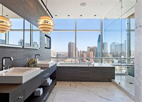 Home Decor Houston Texas uptown penthouse 2 modern bathroom dallas by