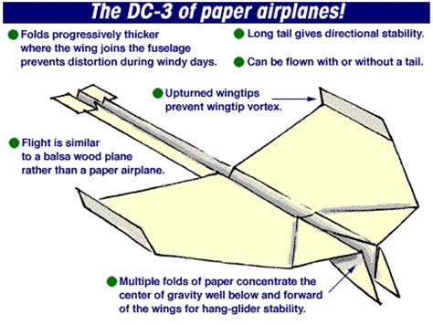 A Paper Airplane For Distance - november 2011 collier