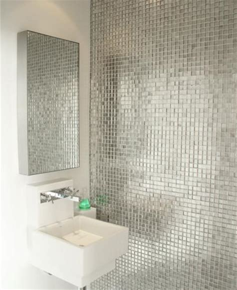 bathroom mirror tiles for wall metallic mosaic tiles brushed aluminum metal tile