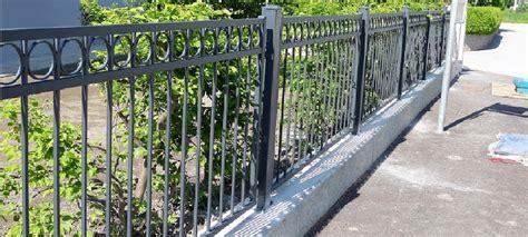 geländer für garten dekor zaun staketen