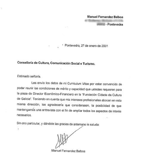 carta de presentacion para curriculm vitae taringa
