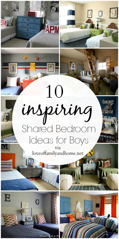 shared boys bedroom ideas 10 shared boys bedroom ideas of family home