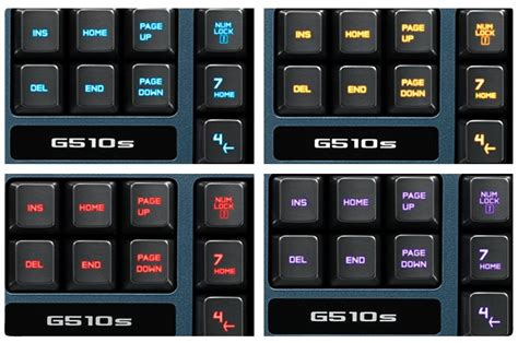 Lu Led Licons logitech g510s gaming keyboard with panel lcd screen
