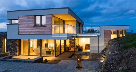 2 Floor House by West Cork Passive House Raises Design Bar
