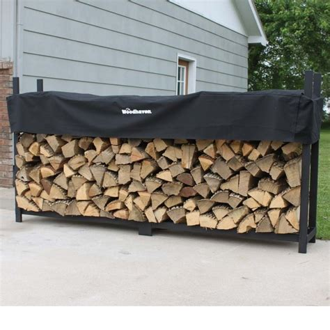 Woodhaven Wood Rack by Woodhaven Wood Rack With Cover Wr8 4ft X 8ft