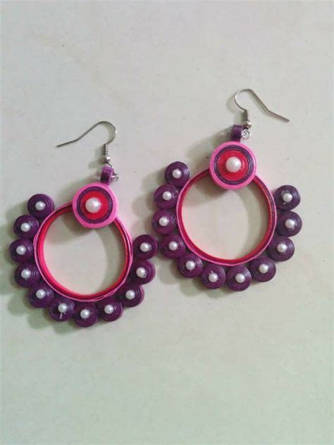 Paper Craft Paper Quilling Handmade Jewelry Earrings - 1347 best paper quilling jwellery images on