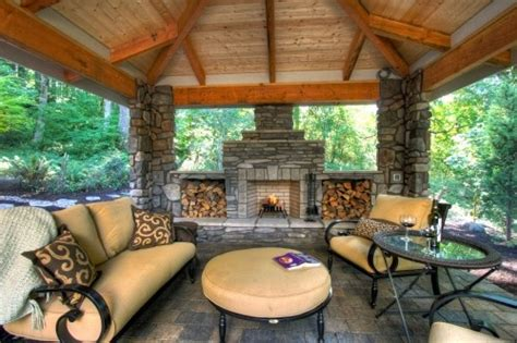 outdoor living spaces covered covered outdoor fireplace outdoor living spaces
