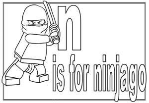 Ninjago 37 Dessins Anim 233 S Coloriages 224 Imprimer