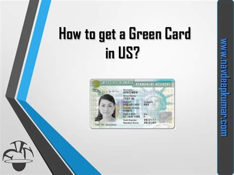 How To Get A Visa - how to get green card visa