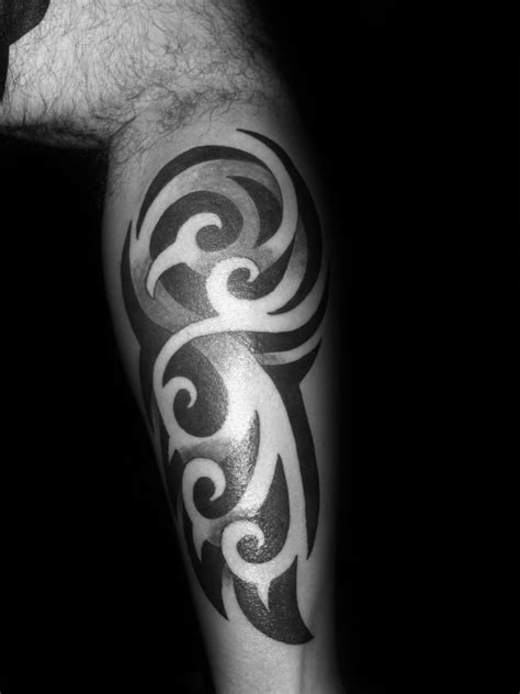 negative space tribal tattoos 60 3d tribal tattoos for masculine design ideas