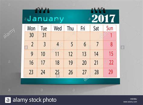 Calendar Desktop Free Desktop Calendar Design 2017 Stock Photo Royalty Free
