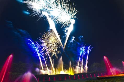 Longwood Gardens Fireworks by A Great Weekend Had By All Fountains And Fireworks