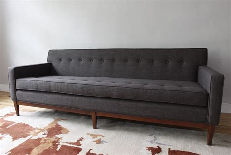 mid century modern couch str8mcm mid century modern sofa and club chair