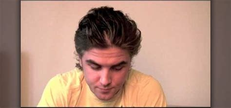 how to fix a dry look combover dry damaged hair men