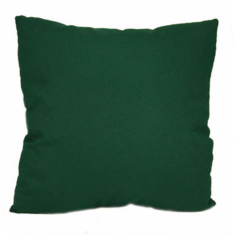 green outdoor uv resistant decorative pillows set of