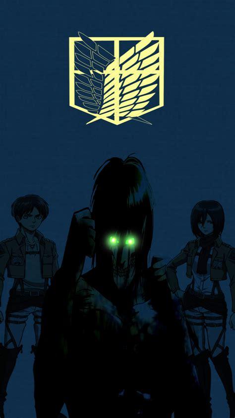 Phone Attack On Titan Scout Legion attack on titan phone wallpaper by darktimeplay on deviantart