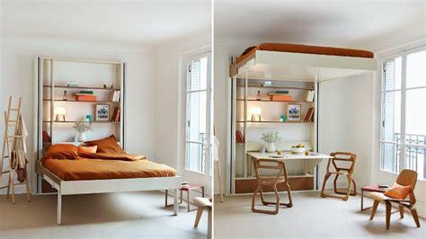 Luxury Bunk Beds For Adults cama elevador libera espa 231 o para a mesa em quarto apertado