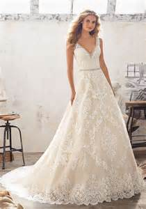 Morilee by madeline gardner morgan 8124 classic a line wedding