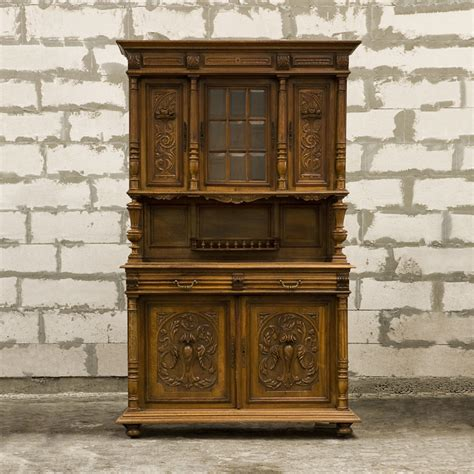 Cabinet Henri Philippe by Antique Cabinet Buffet Style Henri Ii With Floral