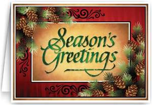 traditional season s greetings card 36004 harrison greetings business greeting