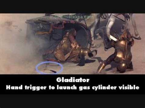 gladiator film errors gladiator movie mistakes youtube
