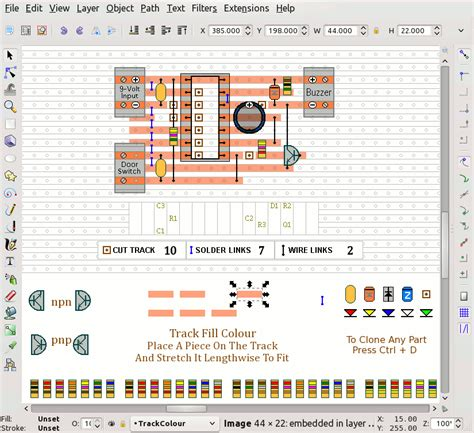 veroboard layout design software how to draw stripboard layouts updated