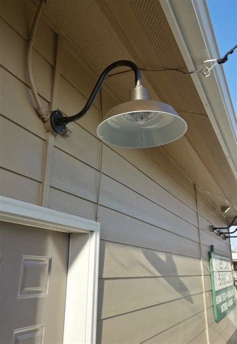 how to use barn door lighting sign lights barn light original gooseneck provide safety