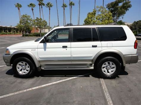 auto air conditioning repair 2000 mitsubishi montero sport electronic toll collection buy used 2000 mitsubishi montero xls sport at 4x4 3 0 eng california car no reserve in