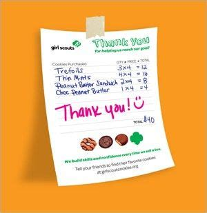 scout cookie sales receipt template 73 best images about scouts on