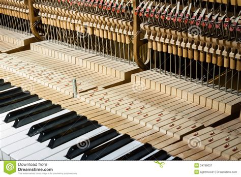 inside of a inside the piano royalty free stock photography image 34799037