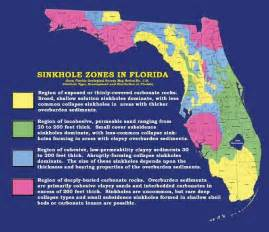 sinkhole map in florida living and sometimes dying with karst scientific