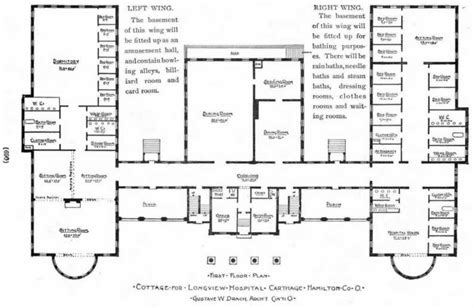 hospital floor plan ohio american local history network alhn early
