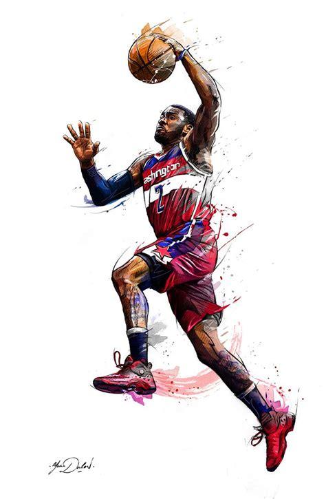 wallpaper cartoon basketball 99 best images about nba art on pinterest tracy mcgrady