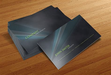 free photoshop psd card templates 50 best free psd business card templates
