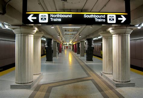 Perspecitve In A Tornoto Subway Station by The Guardian Puts Toronto S Museum Station On Its List Of