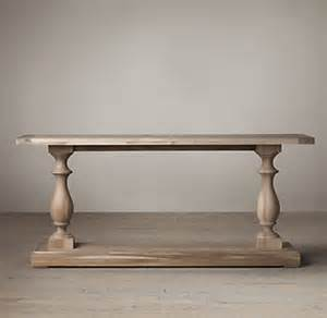 Restoration Hardware Console Table 17th C Monastery Console Table