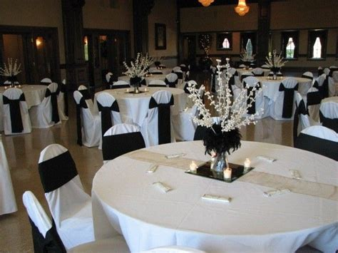 black and white centerpiece ideas future wedding pinterest