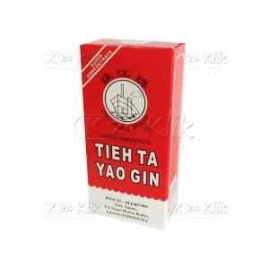 Obat Tieh Ta Yao Gin jual beli tieh ta yao gin 30ml k24klik