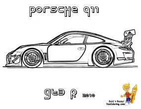 free coloring pages draw porsche gt3