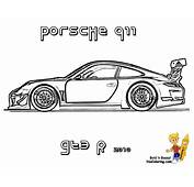 Coloring Pages Porsche  Home