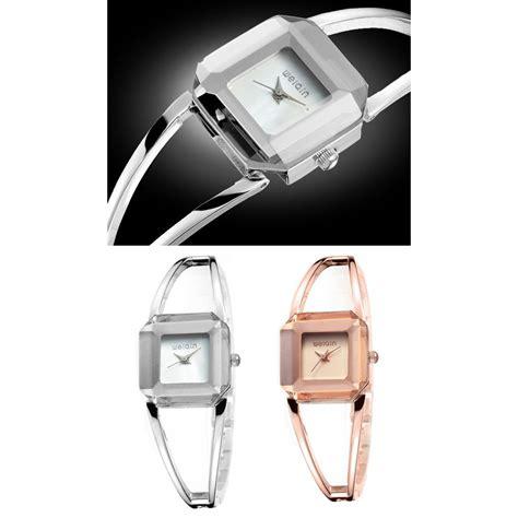 Weiqin Jam Tangan Analog Wanita Wei7677 Gold weiqin jam tangan analog unik wanita wei101102