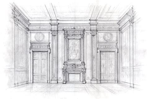 disegno di interni urne e vasi intarsio disegni fatti a mano fontane