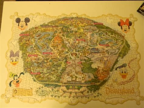 disneyland decorative border puzzle map hinkypunk station a puzzle