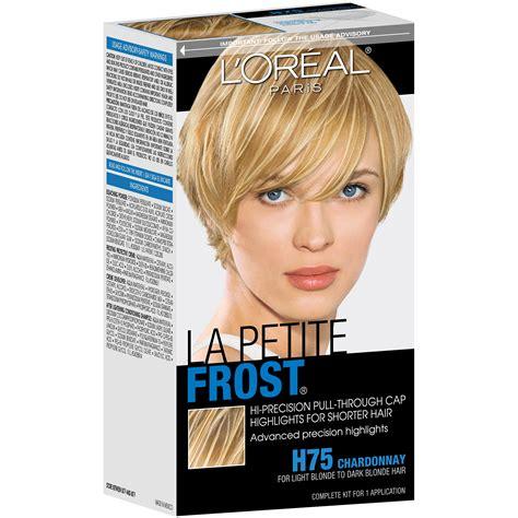 dark blonde frost hair extensions sallys l oreal paris la petite frost 174 hair kit
