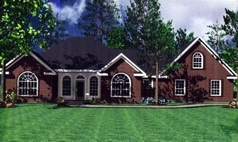 french country ranch house plans european french country ranch traditional house plan 59031