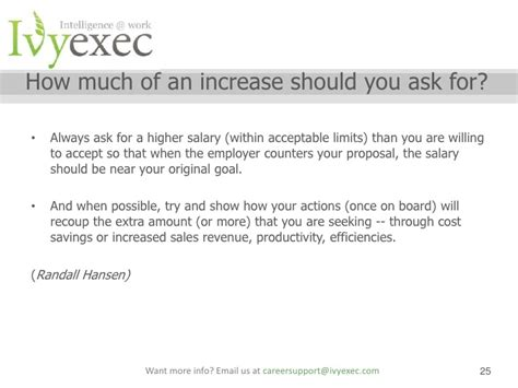 Letter Decline Salary Increase Exec Webinar Salary Negotiation Webinar With Stamboulie