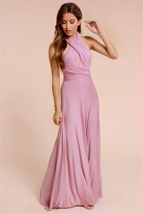 Lulus Exclusive Offer Get 15 On Fab Clothes by Mauve Lulus Exclusive Tricks Of The Trade Mauve Maxi Dress
