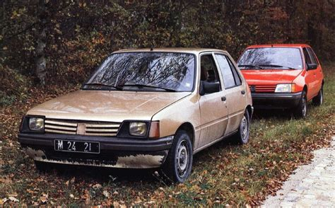 peugeot 205 prototype 4 ran when parked