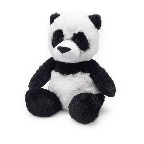 Backpack 4 In 1 Panda intelex cozy plush microwavable scented heat packs animals soft panda ebay