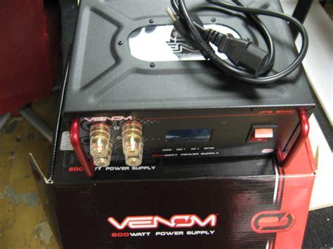 Power Lifier Venom venom ps 600 power supply 40 r c tech forums